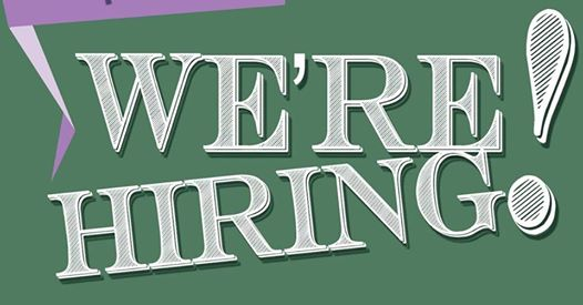 We are hiring - Weekend Tearoom Assistant